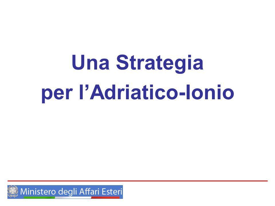 per l'Adriatico-Ionio