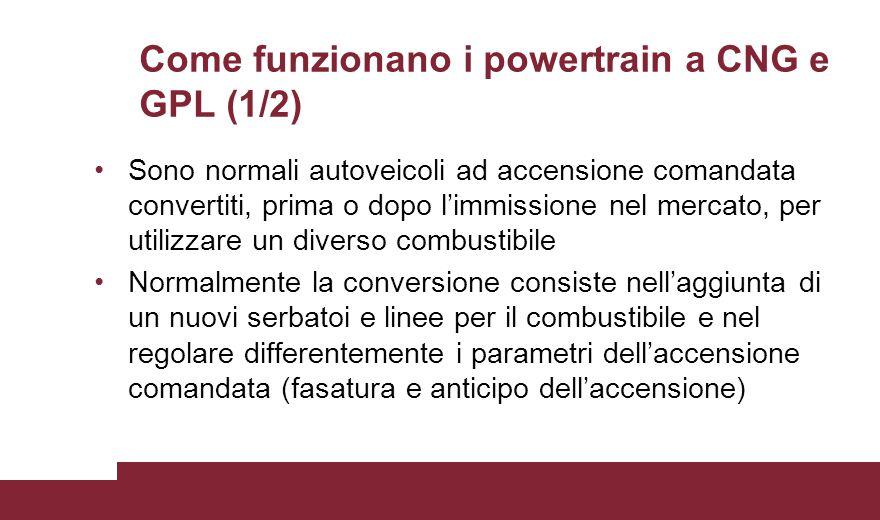 Come funzionano i powertrain a CNG e GPL (1/2)
