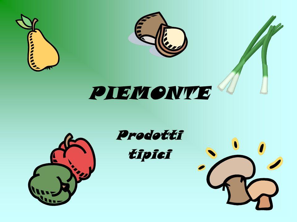 PIEMONTE Prodotti tipici