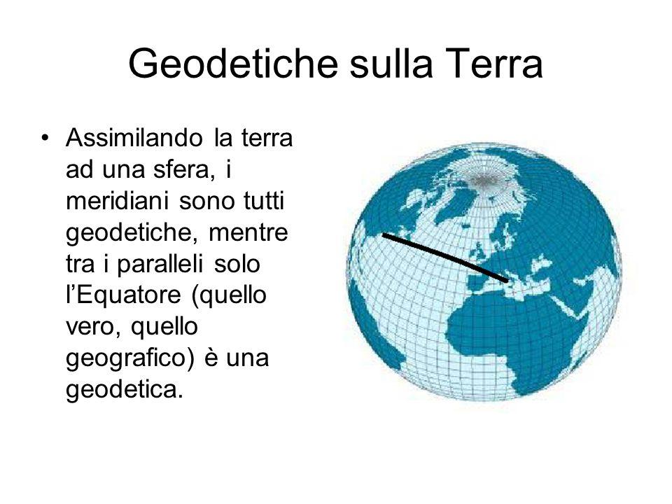 Geodetiche sulla Terra