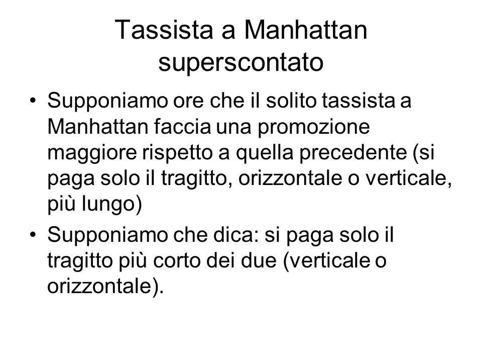 Tassista a Manhattan superscontato
