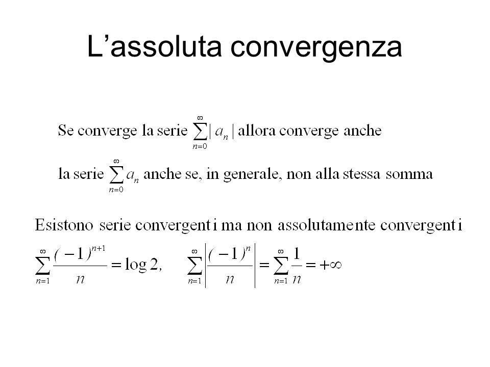 L'assoluta convergenza