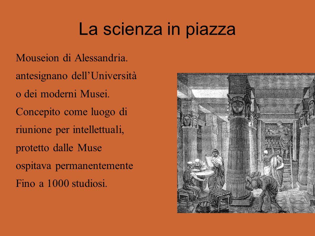 La scienza in piazza