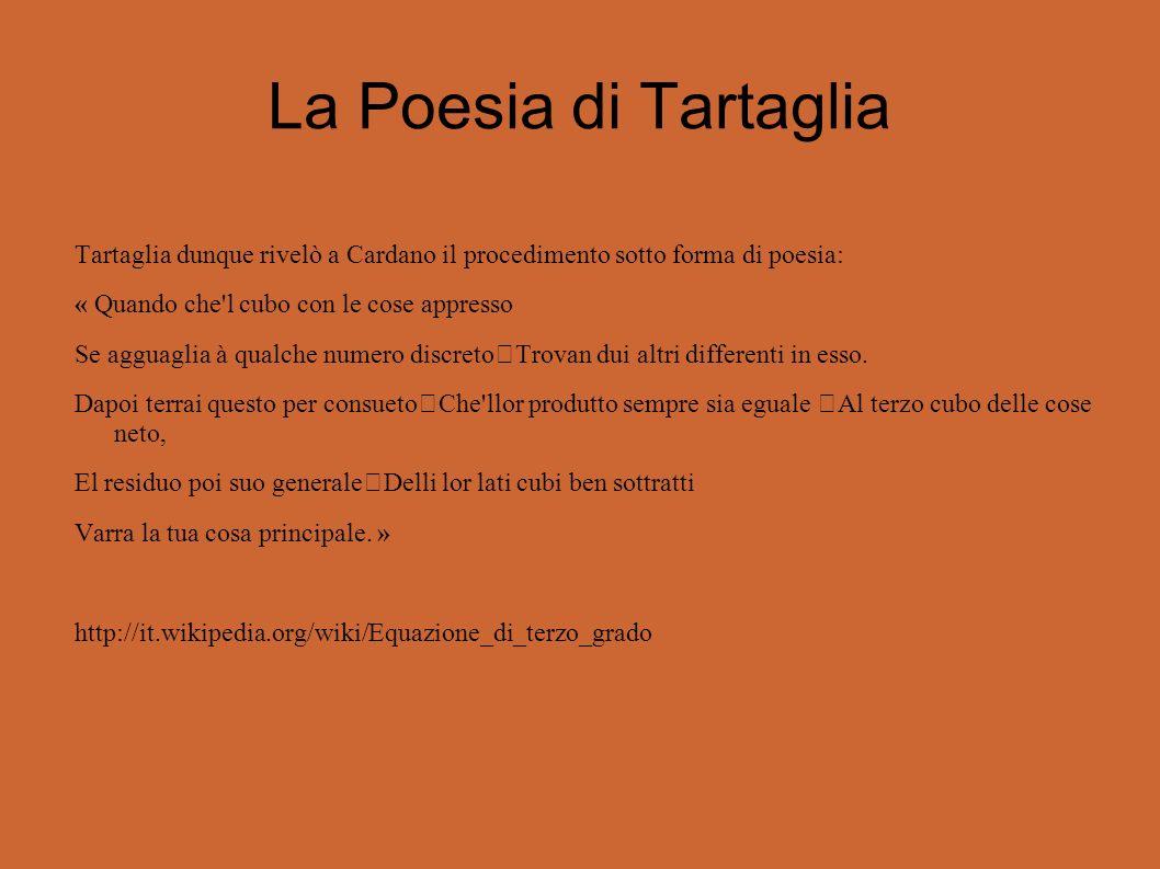 La Poesia di Tartaglia