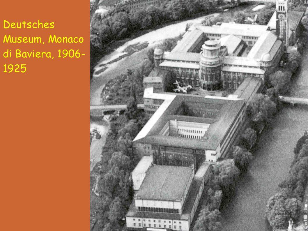 Deutsches Museum, Monaco di Baviera, 1906- 1925