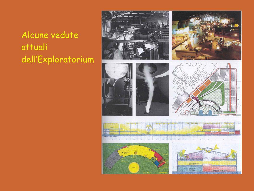 Alcune vedute attuali dell'Exploratorium