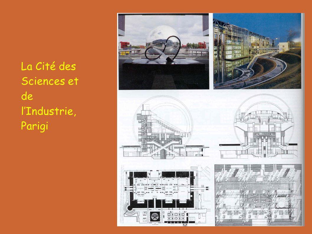 La Cité des Sciences et de l'Industrie, Parigi