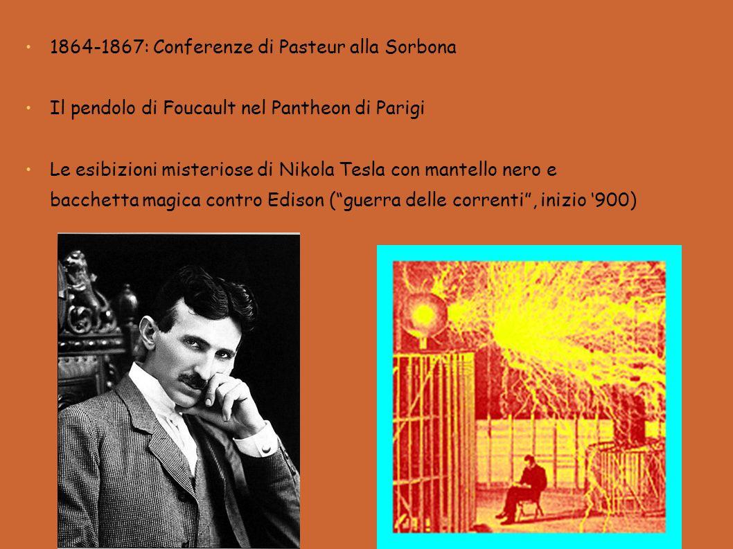 1864-1867: Conferenze di Pasteur alla Sorbona