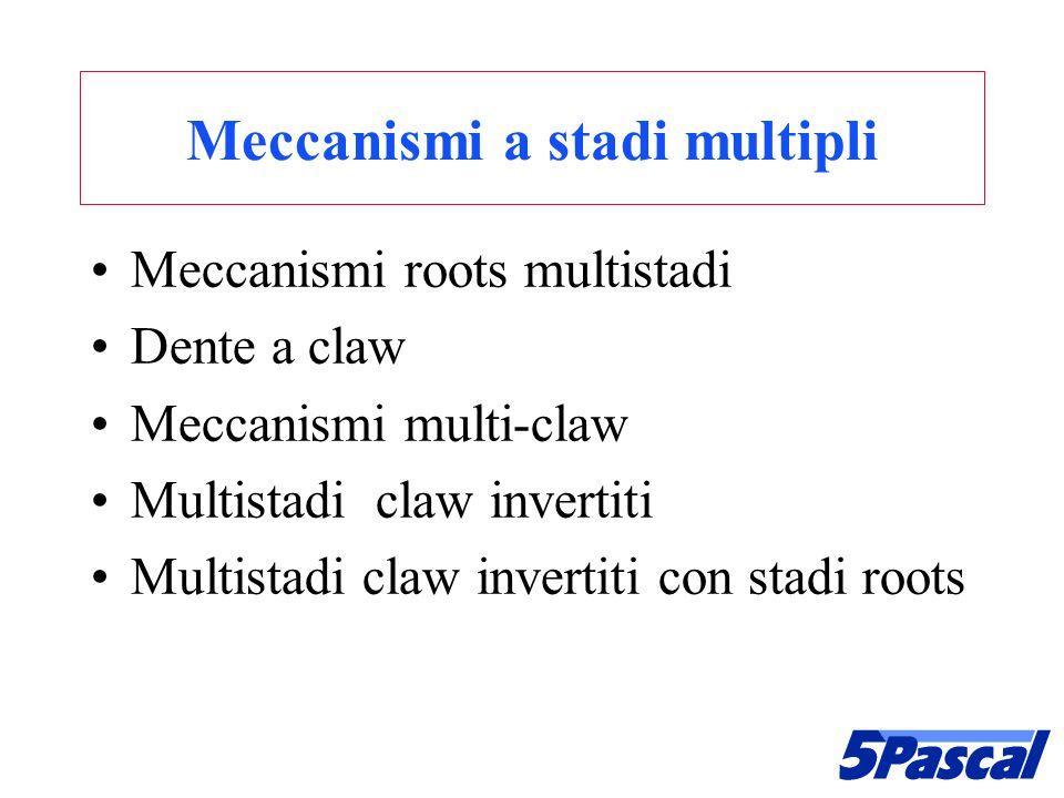 Meccanismi a stadi multipli