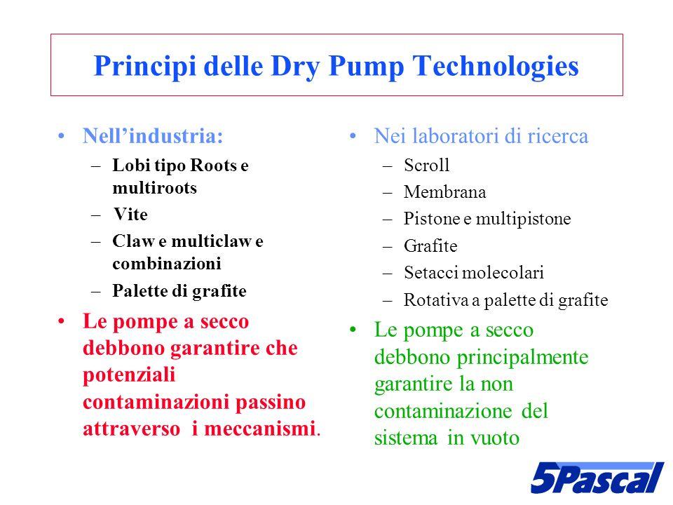 Principi delle Dry Pump Technologies