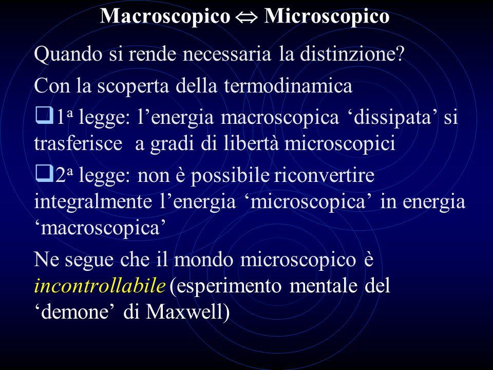 Macroscopico  Microscopico