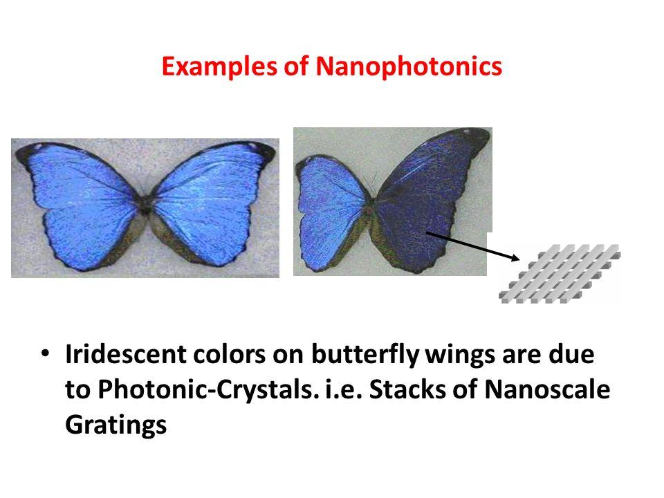 Examples of Nanophotonics
