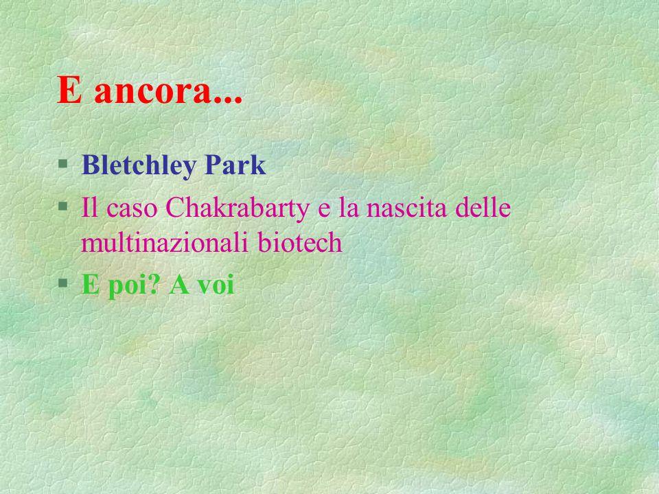 E ancora... Bletchley Park