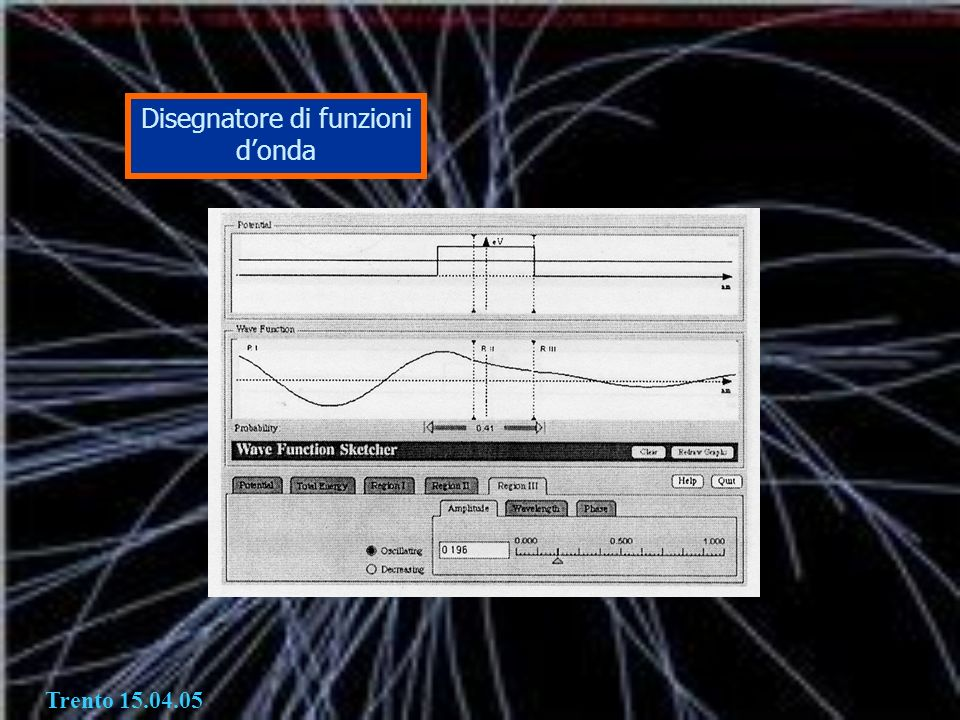 Disegnatore di funzioni d'onda