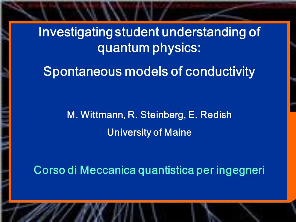 Investigating student understanding of quantum physics:
