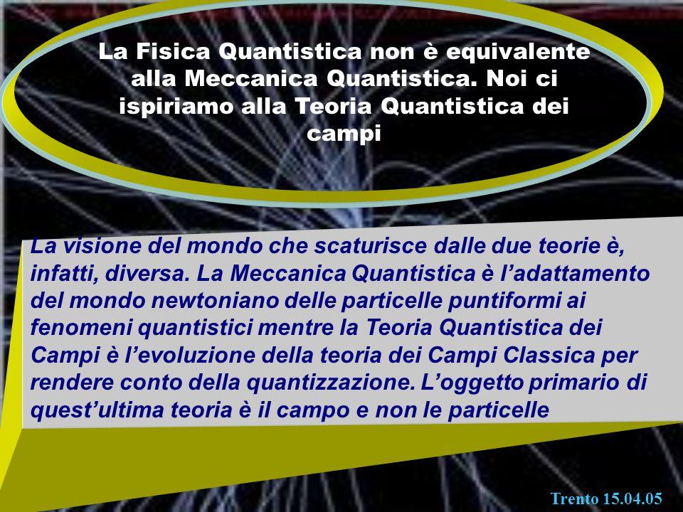 La Fisica Quantistica non è equivalente alla Meccanica Quantistica