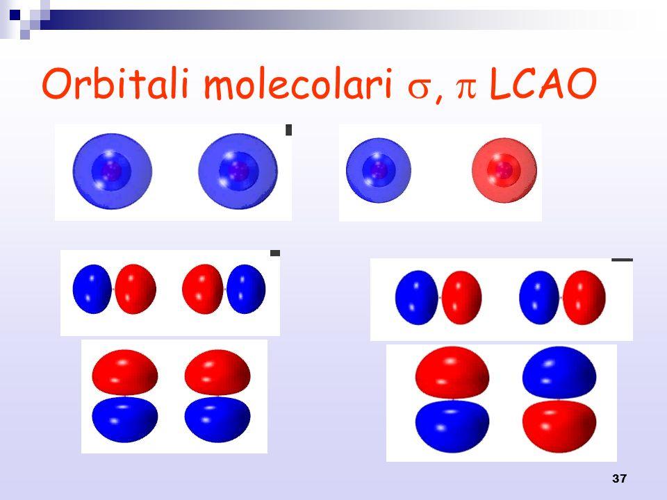 Orbitali molecolari ,  LCAO