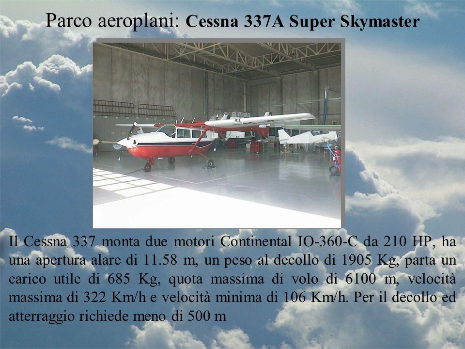 Parco aeroplani: Cessna 337A Super Skymaster