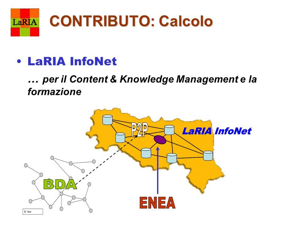 CONTRIBUTO: Calcolo LaRIA InfoNet