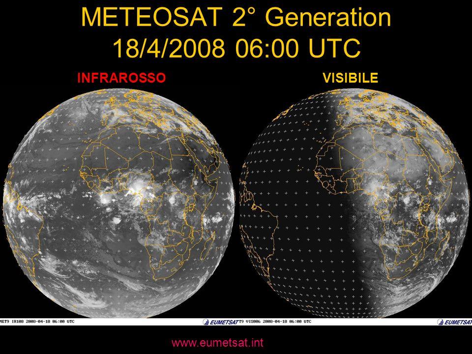 METEOSAT 2° Generation 18/4/2008 06:00 UTC