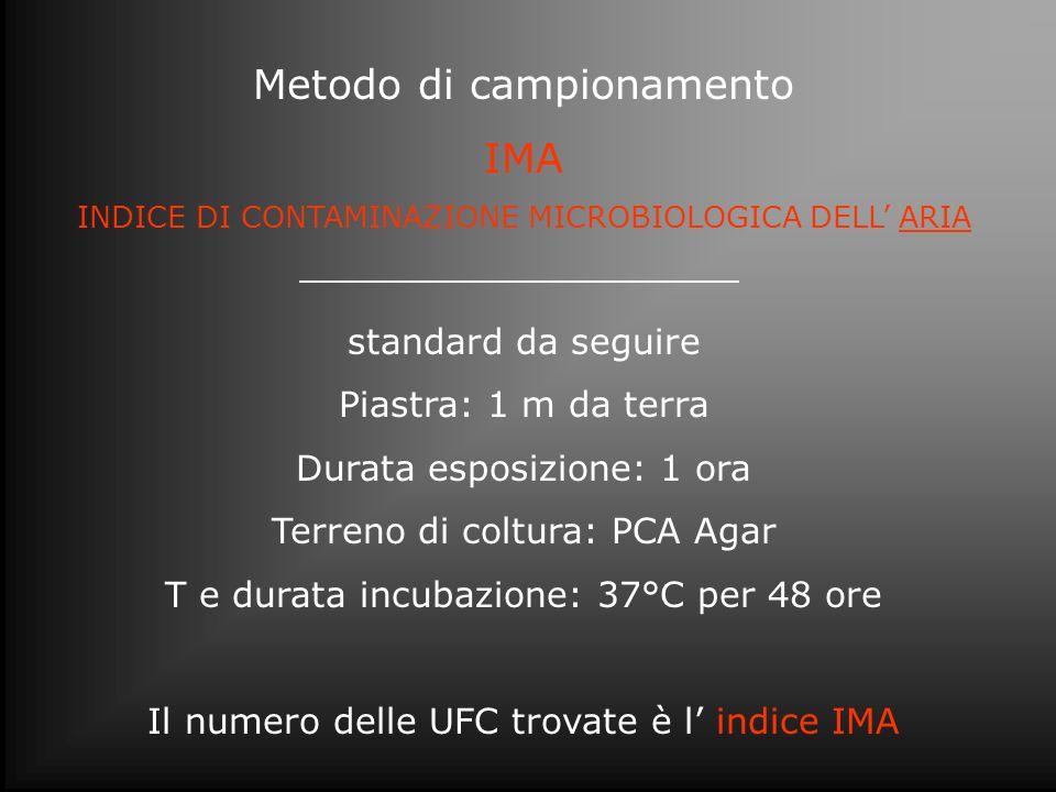 Metodo di campionamento IMA