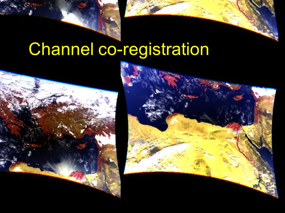 Channel co-registration