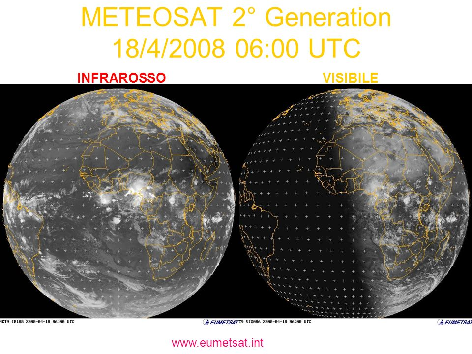 METEOSAT 2° Generation 18/4/2008 06:00 UTC