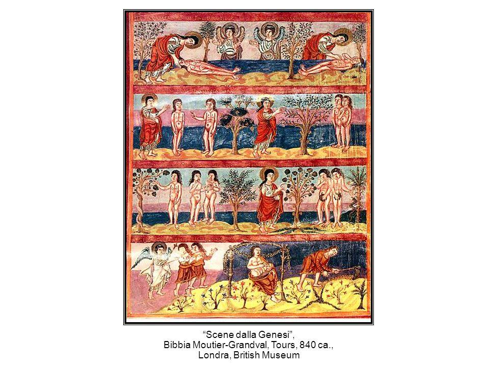 Bibbia Moutier-Grandval, Tours, 840 ca.,
