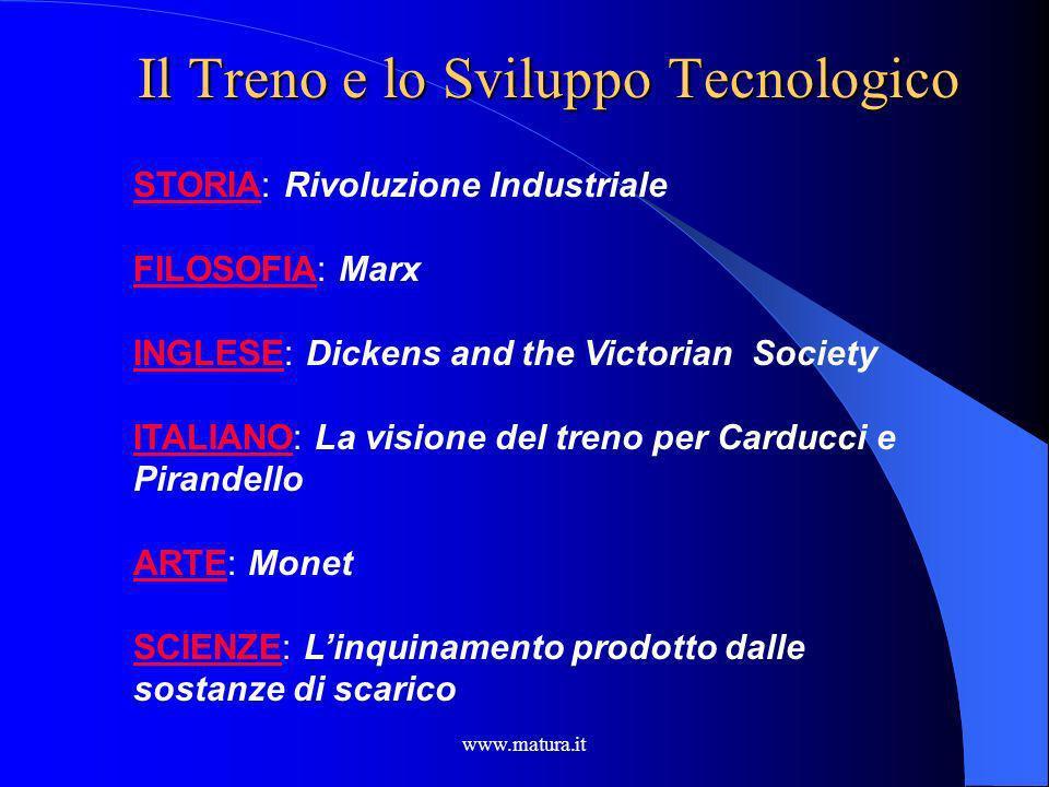 Il Treno e lo Sviluppo Tecnologico