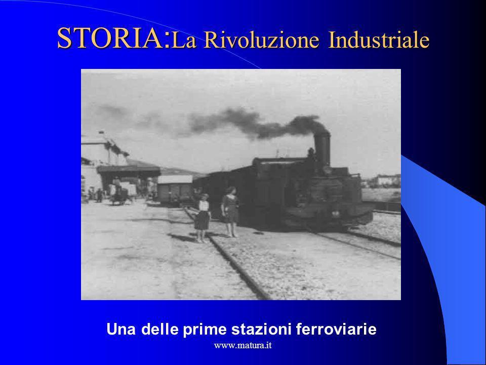 STORIA:La Rivoluzione Industriale