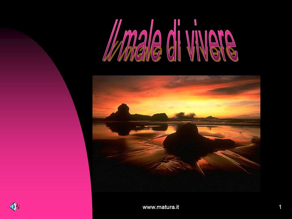 Il male di vivere www.matura.it