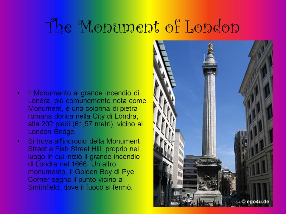 The Monument of London