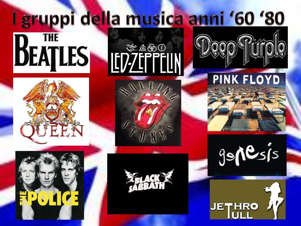 I gruppi della musica anni '60 '80
