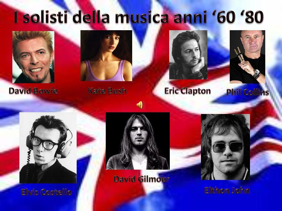 I solisti della musica anni '60 '80