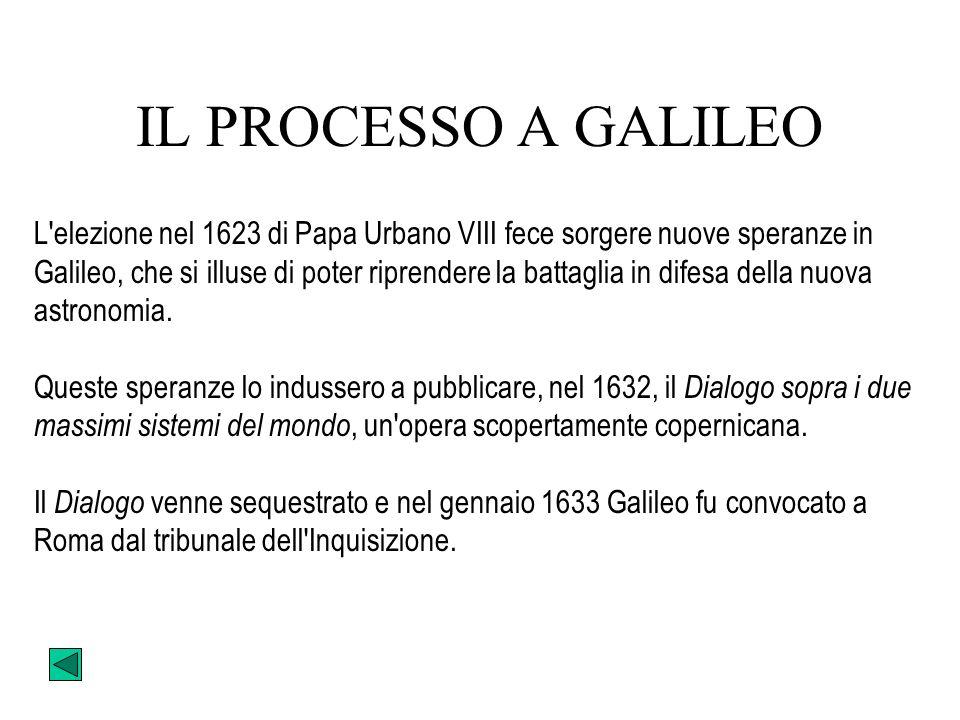 IL PROCESSO A GALILEO