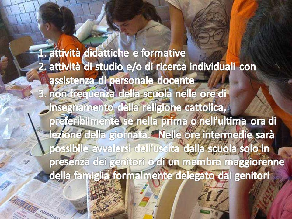 attività didattiche e formative