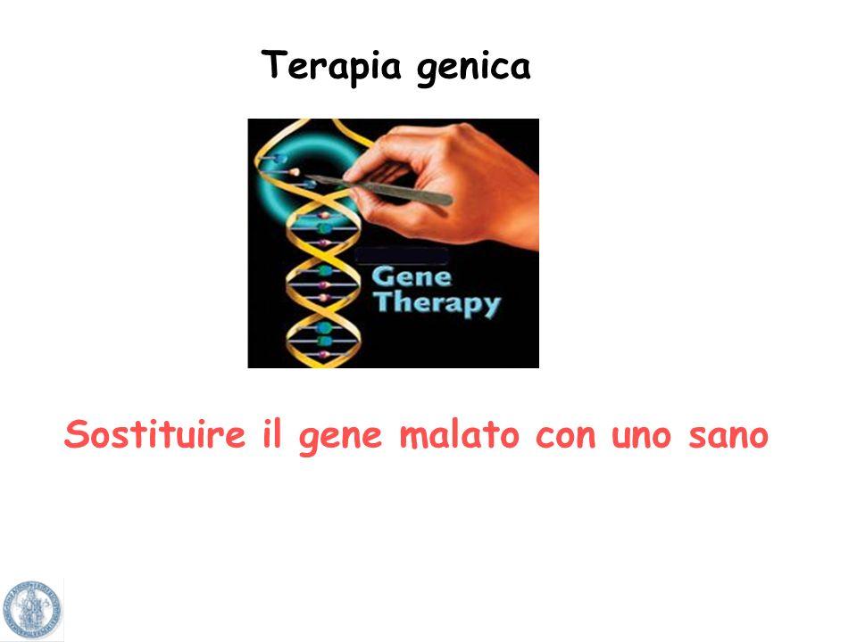 Sostituire il gene malato con uno sano