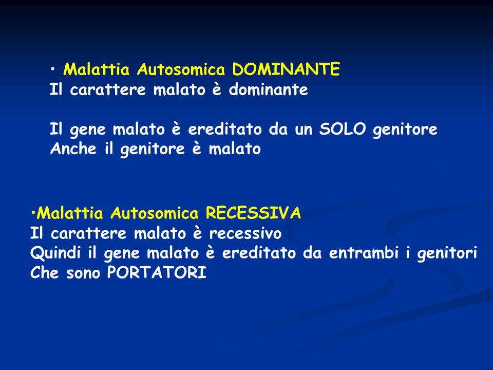 Malattia Autosomica DOMINANTE
