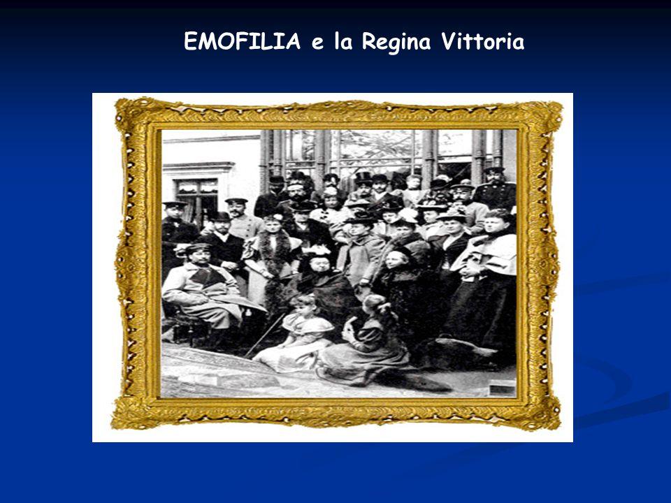 EMOFILIA e la Regina Vittoria