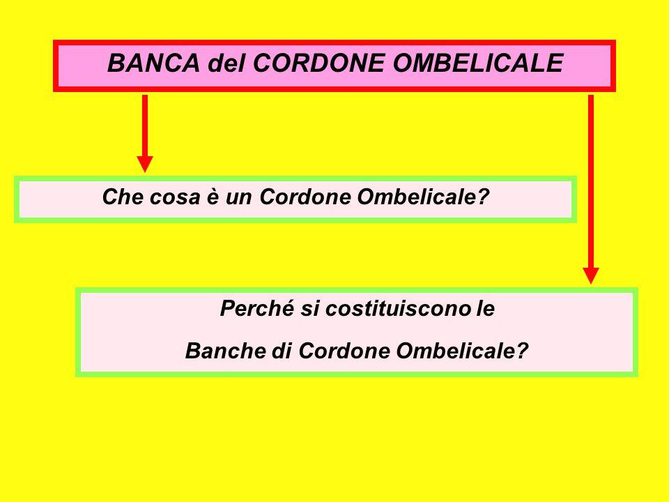 BANCA del CORDONE OMBELICALE