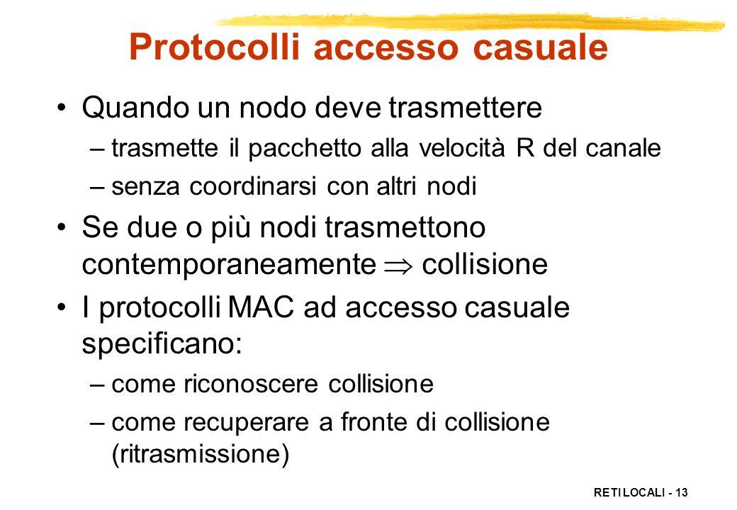 Protocolli accesso casuale
