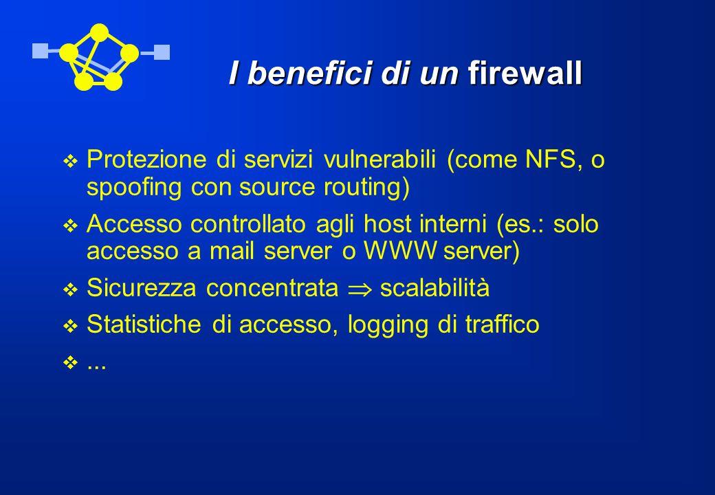 I benefici di un firewall