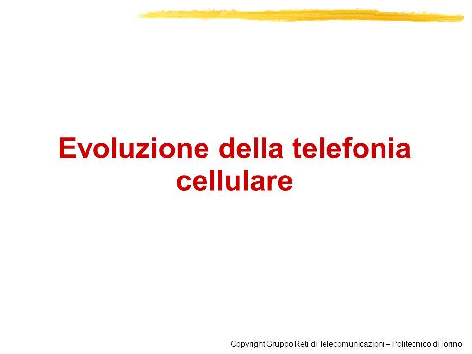 Evoluzione della telefonia cellulare