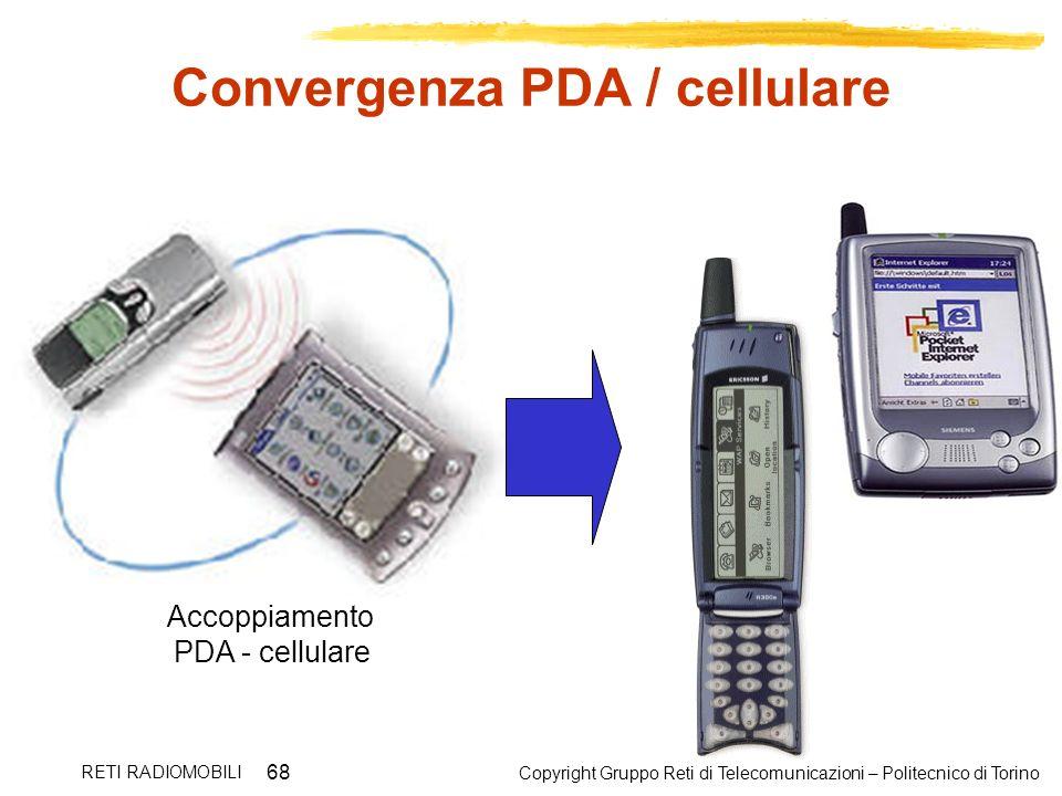 Convergenza PDA / cellulare