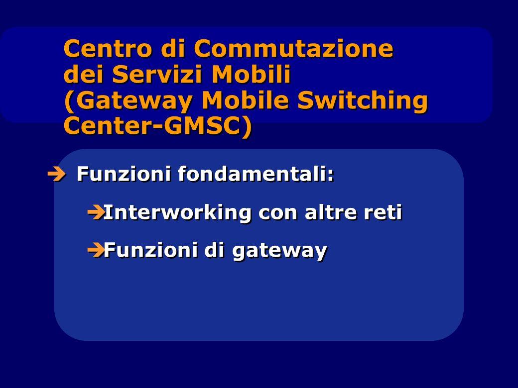 Centro di Commutazione dei Servizi Mobili (Gateway Mobile Switching Center-GMSC)
