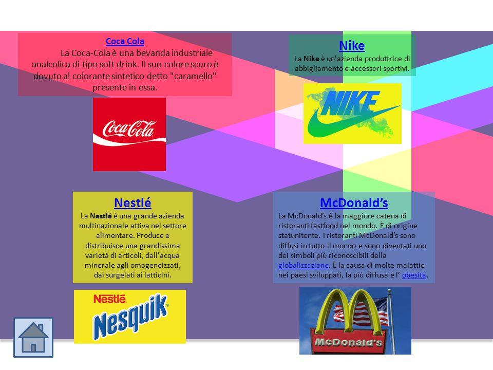 Nike Nestlé McDonald's