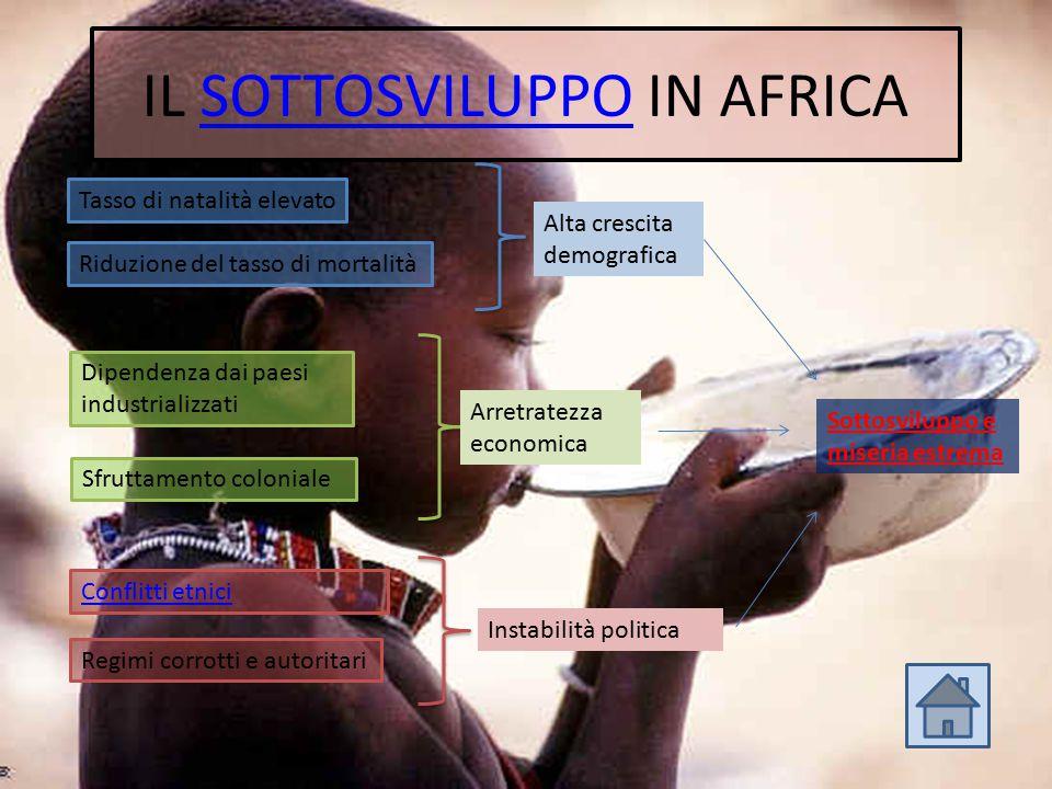 IL SOTTOSVILUPPO IN AFRICA