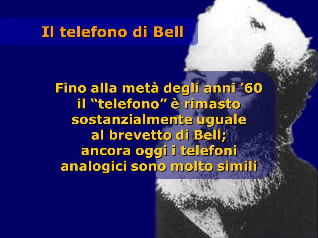 Il telefono di Bell Fino alla metà degli anni '60