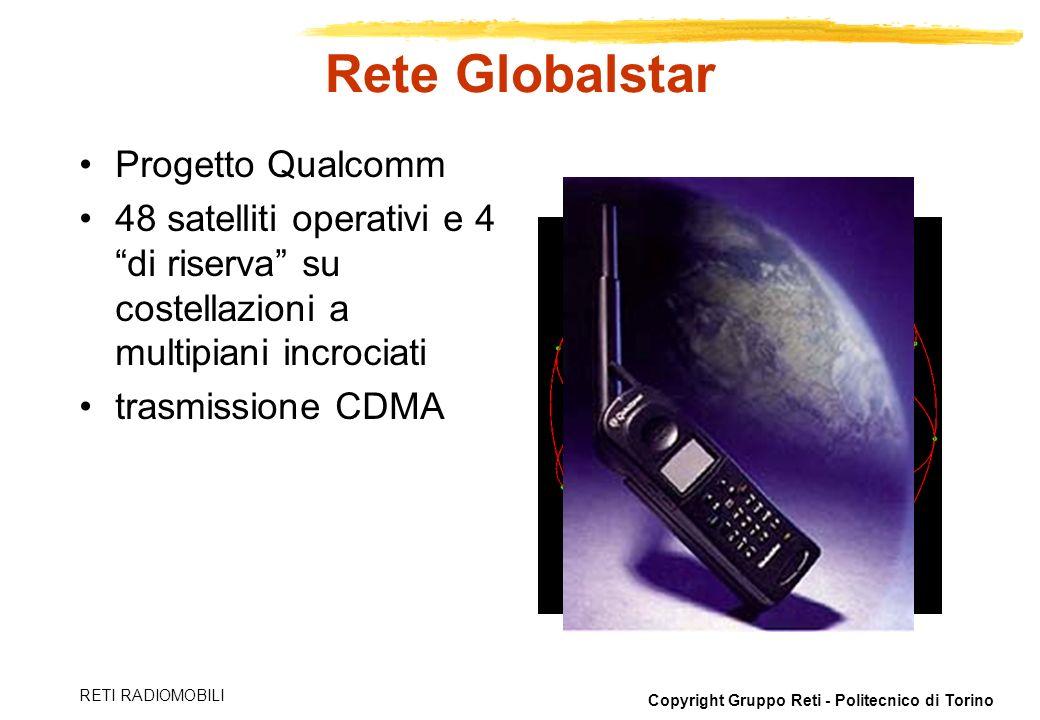 Rete Globalstar Progetto Qualcomm
