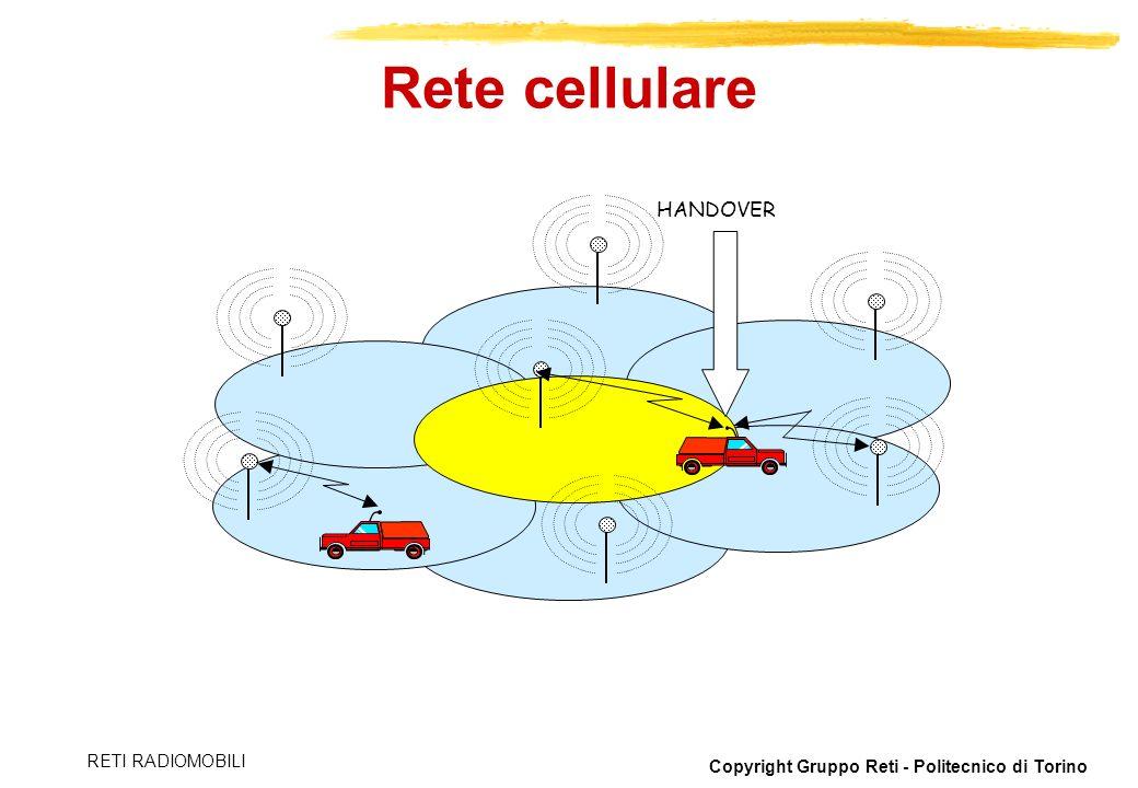 Rete cellulare HANDOVER RETI RADIOMOBILI